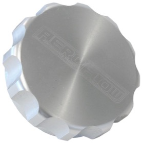 "<strong>1-1/2"" Billet Aluminium Filler Cap</strong> <br /> Silver Finish"