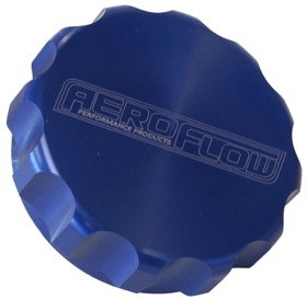 "<strong>3"" Billet Aluminium Filler Cap</strong> <br /> Blue Finish"