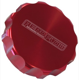 <strong>3&quot; Billet Aluminium Filler Cap</strong> <br /> Red Finish