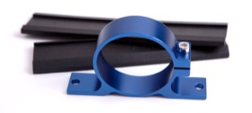 <strong>Bosch Single Fuel Pump Bracket (Blue)</strong> <br />
