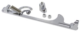 <strong>Billet Throttle Cable Bracket 4150 Style</strong> <br /> Chrome Finish