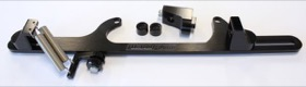 <strong>Billet Throttle Cable Bracket 4500 Dominator Style </strong><br />Black Finish