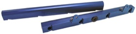 <strong>Billet EFI Fuel Rails (Blue)</strong><br /> Suit Chevy/Holden LS1