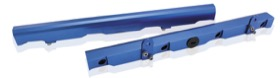<strong>Billet EFI Fuel Rails (Blue)</strong><br /> Suit Chevy/Holden LS2 & LS3