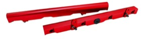 <strong>Billet EFI Fuel Rails (Red)</strong><br /> Suit Chevy/Holden LS2 &amp; LS3