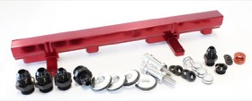 <strong>Billet EFI Fuel Rails (Red)</strong><br /> Suit Nissan SR20 (Red)