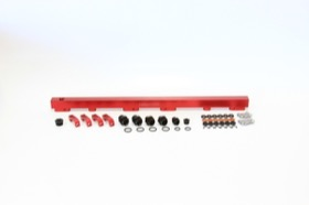 <strong>Billet EFI Fuel Rails (Red)</strong><br /> Suit Nissan RB30