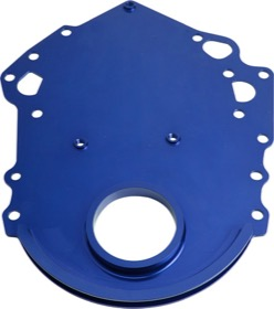 <strong>Billet Timing Cover - Blue </strong><br /> Suit Ford 302-351C