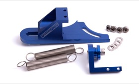 <strong>Billet Return Spring Assembly 4150 Style</strong> <br /> Blue Finish