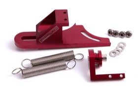 <strong>Billet Return Spring Assembly 4150 Style</strong> <br /> Red Finish