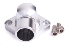 <strong>Billet Thermostat Housing - Silver</strong> <br /> Suit SB, BB Chevy, (Swivel)