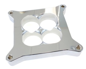 "<strong>1"" Tapered High Velocity Carburettor Spacer </strong><br />Chrome Finish. Suit 4500 Style Flange"