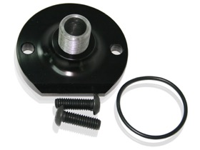 <strong>Billet Oil Bypass Eliminator Mount - Black </strong><br />Suit Small Block Chevy