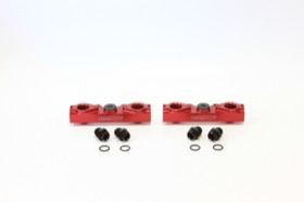 <strong>Billet EFI Fuel Rails (Red)</strong><br /> Suit Subaru EJ25