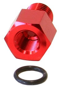 <strong>Fuel Rail Adapter (Red)</strong><br /> Suit Mazda RX-7, Toyota MR2, Celica GT4