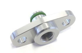 <strong>Fuel Rail Adapter (Raw)</strong><br /> Suit Subaru, Nissan, Mazda with 32.5mm Centres