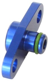 <strong>Fuel Rail Adapter (Blue) </strong><br /> Suit Toyota, Subaru with 40mm Centres