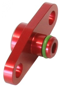 <strong>Fuel Rail Adapter (Red)</strong><br /> Suit Toyota, Subaru with 40mm Centres