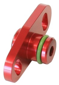 <strong>Fuel Rail Adapter (Red)</strong><br /> Suit Mitsubishi 16mm Seal & 37-40mm Centres
