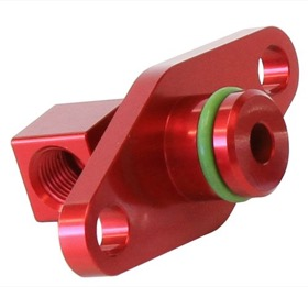 <strong>Fuel Rail Adapter (Red)</strong><br /> Suit Subaru Sti EJ25 2008-on
