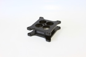 <strong>2&quot; Tapered High Velocity Carburettor Spacer </strong><br />Black Finish. Suit 4150 Style Flange