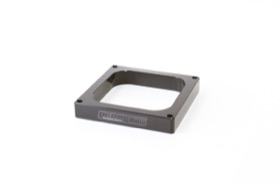 <strong>1&quot; Open High Velocity Carburettor Spacer </strong><br />Black Finish. Suit 4500 Style Flange