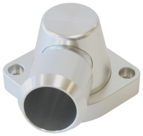 <strong>Billet Thermostat Housing - Silver</strong> <br /> Suit Holden/Chevy LS except LS3, Swivel