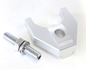 <strong>Billet Distributor Hold Down Clamp - Silver </strong><br />Suit Ford 302-351C
