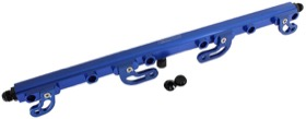 <strong>Billet EFI Fuel Rails (Blue)</strong><br />Suit Ford FG 4.0L DOHC 6 Cyl.