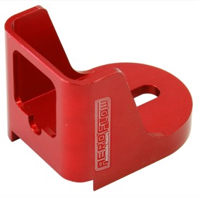 <strong>GM Kick Down Cable Bracket</strong><br />Suit AF64-2001 & AF64-2002 Cable Brackets, Red Finish
