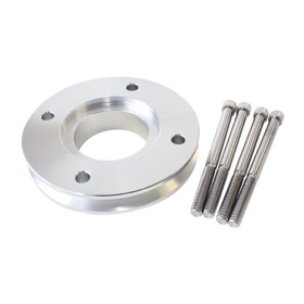 <strong>Gilmer V-Groove Adapter - Silver Finish</strong><br />Suit Holden 253-308 V8 when using AF64-3003 Gilmer Drive Kit