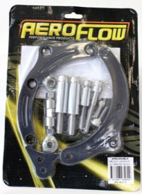 <strong>Billet Aluminium Alternator Bracket </strong> <br />Suit Big  Block Chevy Low mount passenger side with short water pump, Black