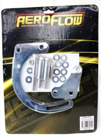 <strong>Low Mount Alternator Bracket </strong><br /> Chrome Finish. Suit Small Block Chevy with Short Water Pump