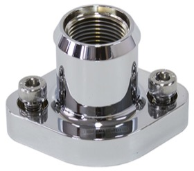 <strong>Billet Top Water Housing - Chrome</strong> <br />Suits Nissan/Holden