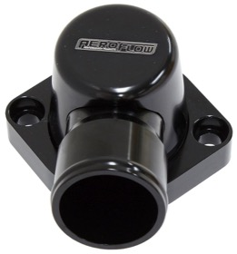<strong>Billet Thermostat Housing - Black Finish</strong><br />Suit Big Block Ford 429-460