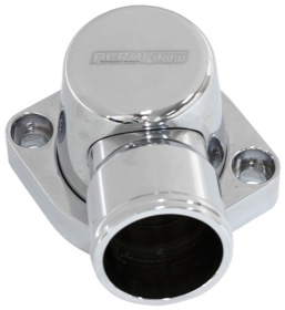 <strong>Billet Thermostat Housing - Chrome Finish</strong><br />Suit Big Block Ford 429-460