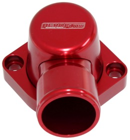 <strong>Billet Thermostat Housing - Red Finish</strong><br />Suit Big Block Ford 429-460