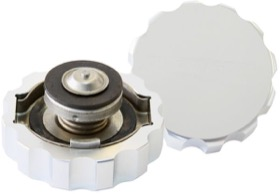 <strong>Billet Radiator Cap Small Style suit 32mm Water Neck</strong><br /> Polished Finish.