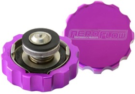 <strong>Billet Radiator Cap Small Style suit 32mm Water Neck</strong><br /> Purple Finish.