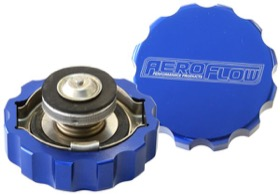 <strong>Billet Radiator Cap Large Style suit 42mm Water Neck</strong><br />Blue Finish.