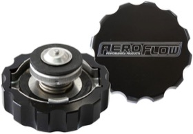 <strong>Billet Radiator Cap Large Style suit 42mm Water Neck</strong><br /> Black Finish.