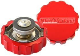 <strong>Billet Radiator Cap Large Style suit 42mm Water Neck</strong><br />Red