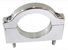 <strong>Billet Bar Mount Bracket</strong><br /> Polished Suit 1&quot; (25.4mm) Bar Use With AF6400 Series Bottle Mounts