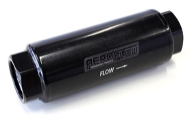 AEROFLOW PRO FILTER 60 MICRON BLACK FEMALE -8 ORB 1.25