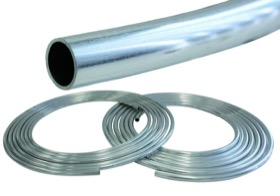 "<strong>Aluminium Fuel Line 3/8"" (9.5mm) 25ft (7.6m) Length Roll</strong><br /> Raw Finish"