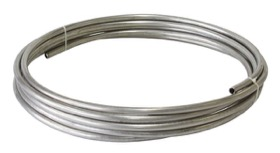 "<strong>Stainless Steel Hard Line 1/2"" (12.7mm) </strong><br /> 25ft (7.6m) Length Roll"