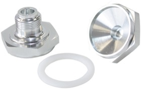 <strong>Power Valve Blank Plug</strong><br /> Silver finish