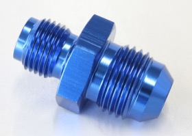 "<strong>Inverted Seat Adapter 7/16""-24 to -6AN</strong> <br />Blue Finish"