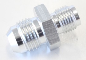 "<strong>Inverted Seat Adapter 7/16""-24 to -6AN</strong> <br />Silver Finish"