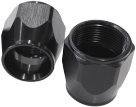 <strong>Kryptalon Replacement Socket Nut</strong><br /> -8AN, Black Finish